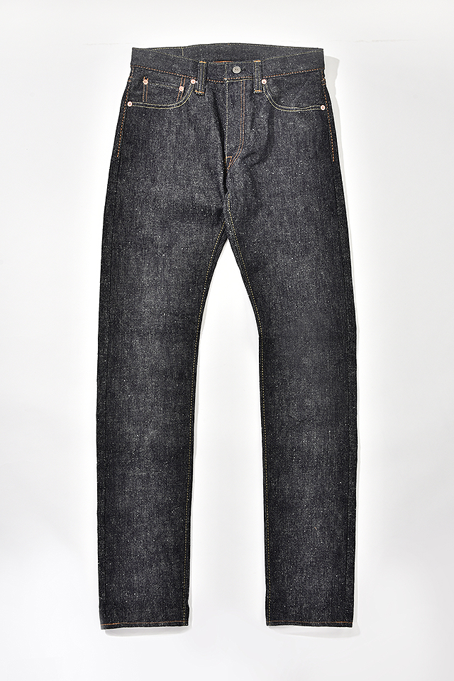 [SN-013] 17oz. Snow Denim Slim Tapered