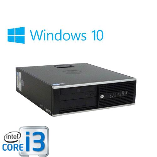 中古パソコン HP 6200Pro SF/Core i3 2100(3.1GHz)/メモリ4GB/HDD250GB/DVDマルチ/Windows10 Home 64bit/0557a