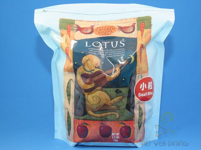 ロータス ドッグフード アダルトチキンレシピ小粒1kg