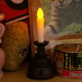 【ペット仏壇・納骨堂にも】【LEDで長持ち】 火を使わない ペット供養電子ろうそく