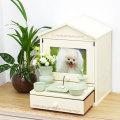 ペット仏壇 ペット骨壷も納まる Natural House 2色 かわいい仏壇 ケース