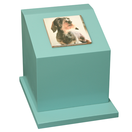 ペットのお墓ペットカロート角型写真陶板フルカラー100