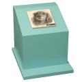 ペットのお墓ペットカロート角型写真陶板モノクロ100