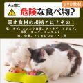 犬と猫に危険な食べ物?(その1)