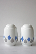 北欧ヴィンテージ/Lyngby Porcelain(リュンビュー・ポーセリン)/ソルト&ペッパー