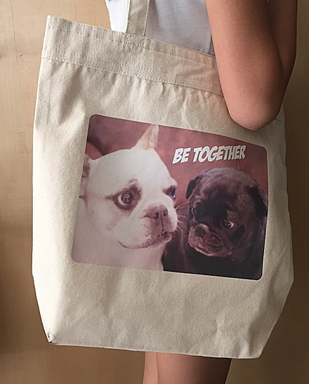 BE TOGETHER トートホワイト