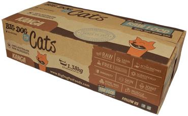 ビッグドッグ猫用冷凍生食(カンガルー)