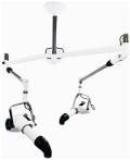 ドリーム産業 天吊り式ダブル HP-1500 ホワイト ■天井から吊り下げるタイプ