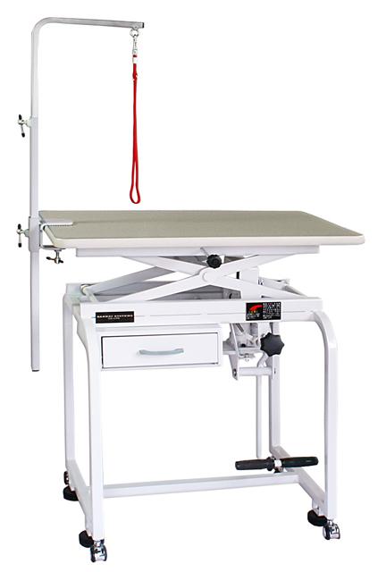 【油圧式】トリミングテーブル 油圧式 X型 750