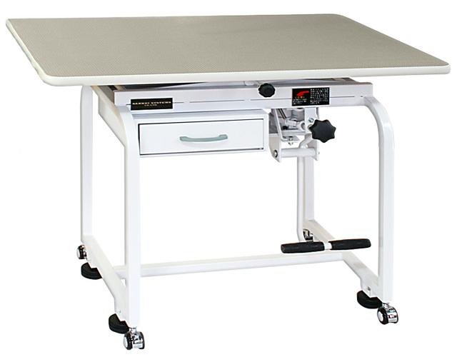 【油圧式】トリミングテーブル 油圧式 X型 900