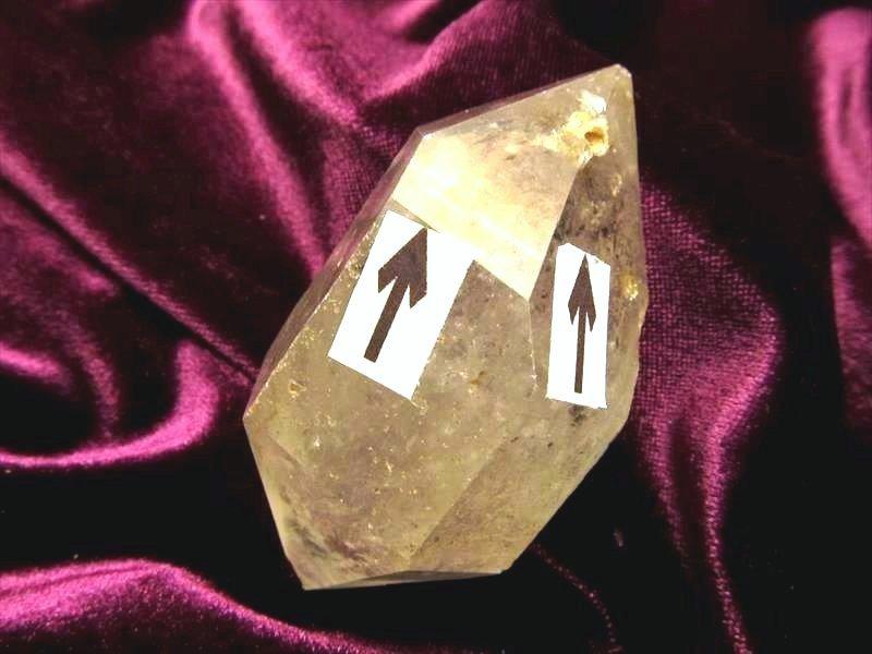 水入りエレスチャル水晶
