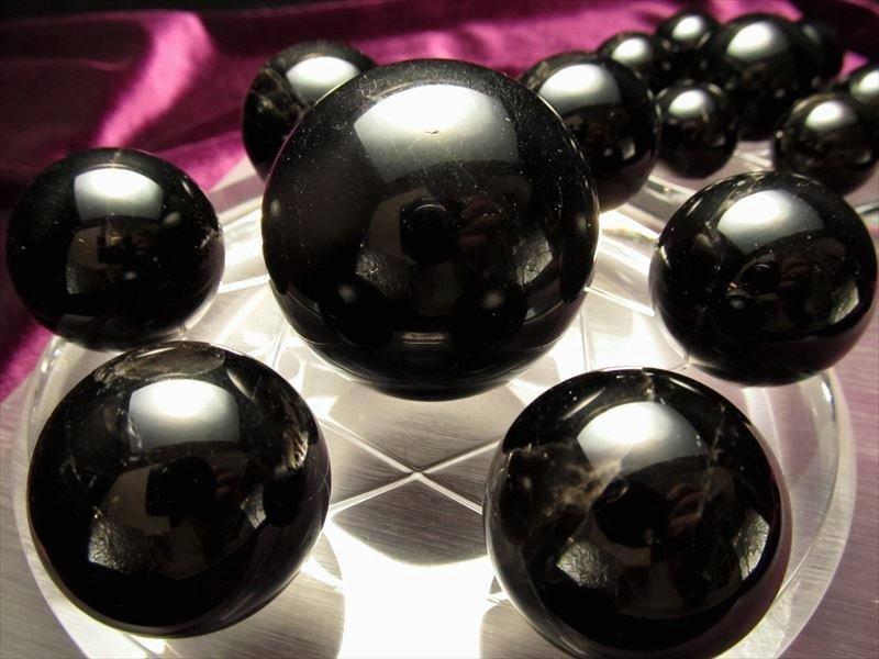 黒水晶七星陣