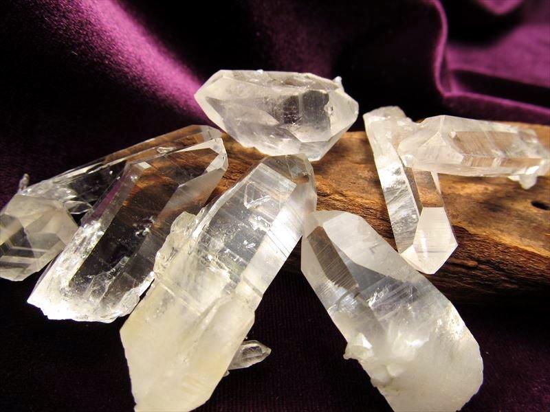 アーカンソー州産水晶