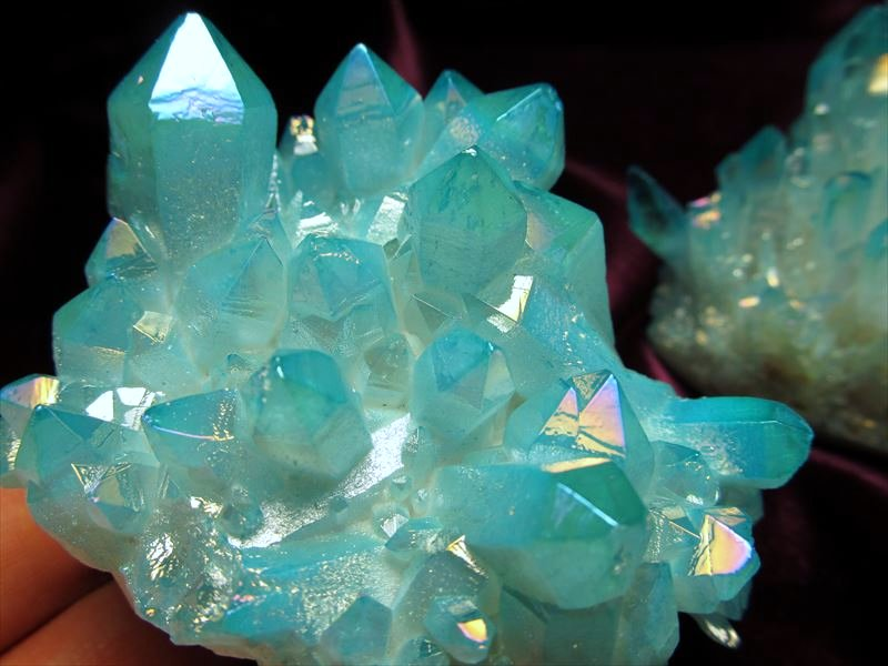 アクアオーラ水晶クラスター