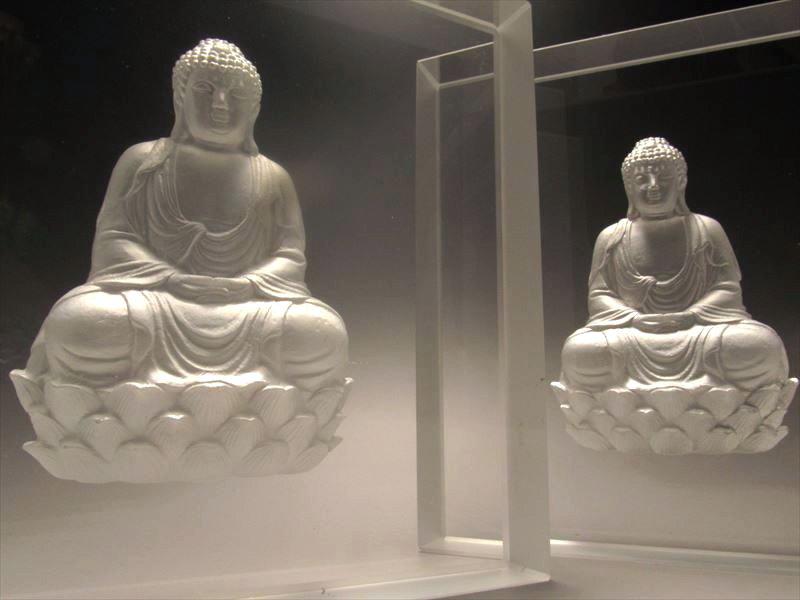 仏像クリスタルガラス