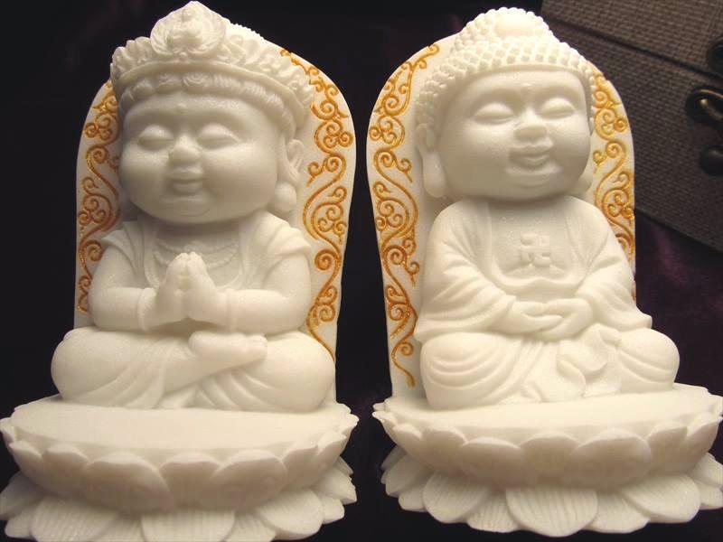 仏像2体セット