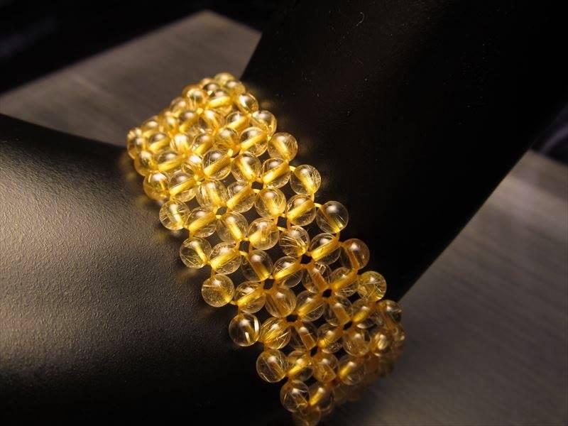 ゴールドルチルデザインブレス