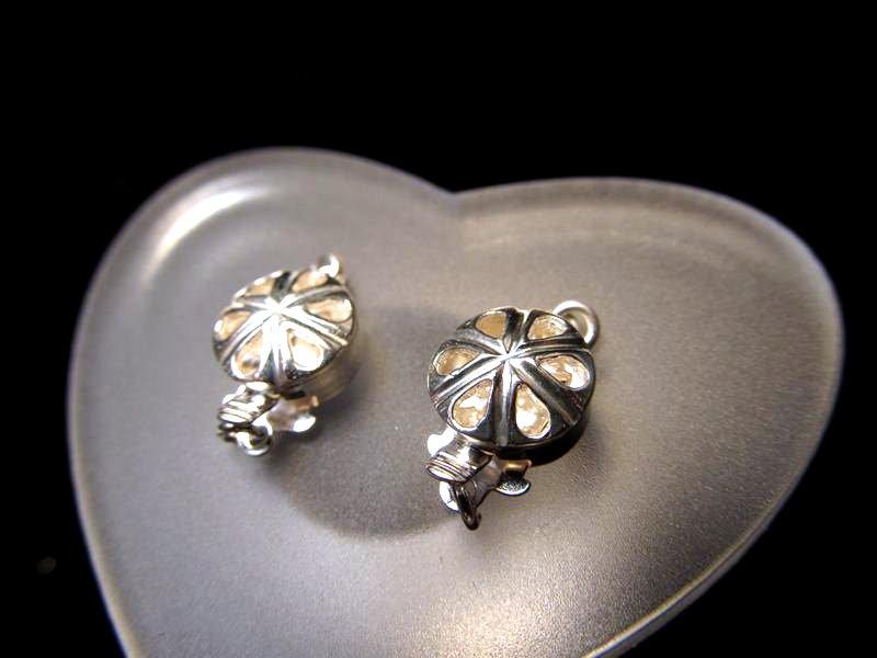 ◆高級・高品質Silver925パーツ◆約8.5mm◆1個520円◆シルバー留め金具◆SS003◆