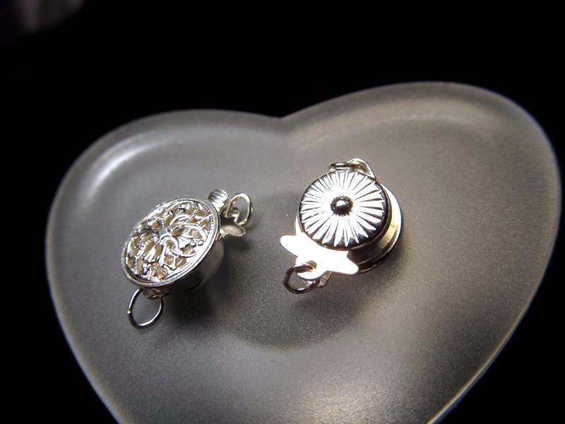 ◆高級・高品質Silver925パーツ◆約9mm◆1個699円◆シルバー留め金具◆SS002◆