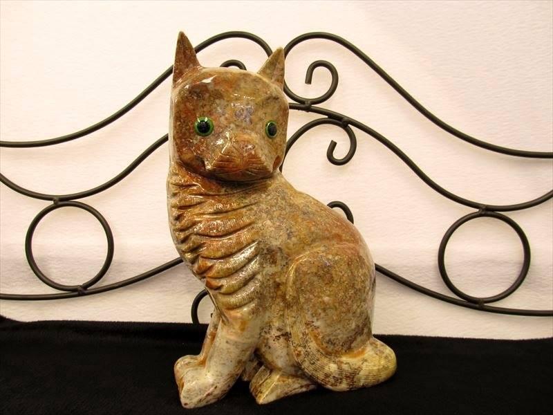 巨大ジャスパー動物彫刻