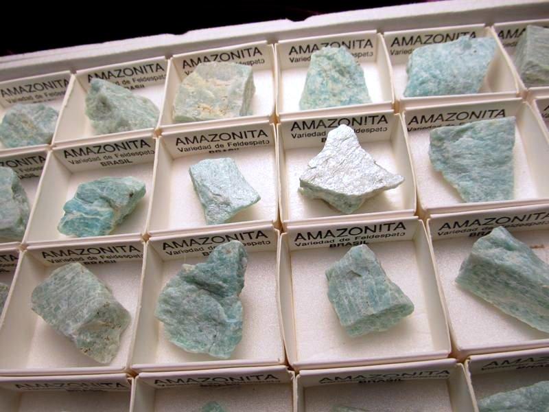 アマゾナイト・ミニチュア原石