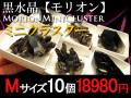 黒水晶クラスター