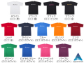 RAKUシャツ SPORTS (吸汗速乾) 半袖 ロゴ入り 両面プリント