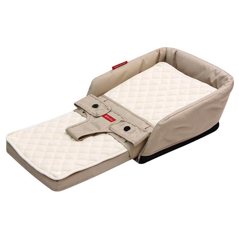 ☆ファルスカ ベッドインベッド フレックス ベージュ☆0〜6歳まで使えるベビー寝具