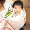 ☆ベビハグスリング メッシュ(AJ006)☆ママ&赤ちゃんにやさしい抱っこ布