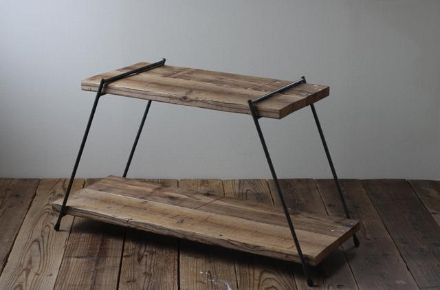 足場板とアイアンの組み立てラック|HIダブル|同梱不可商品