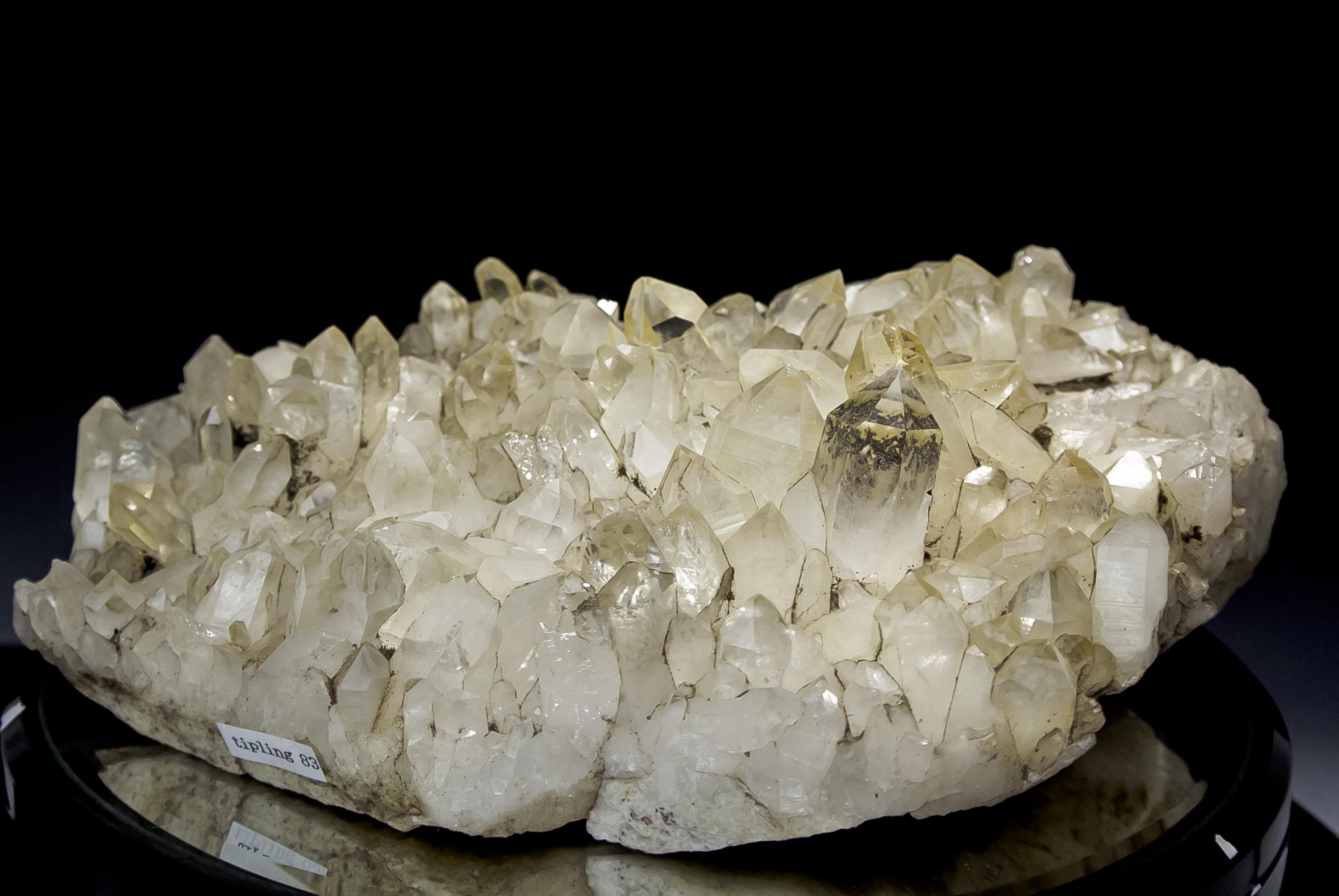 ヒマラヤ水晶 ティップリン産水晶クラスター ガネーシュヒマールhtpc-3