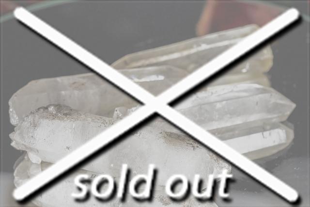 インド産ヒマラヤ水晶 ベラダール産ポイント5本セット 結界用 大特価!