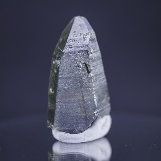 ヒマラヤ水晶 ラパ産水晶ポイント ガネーシュヒマール クローライト水晶hgr-1