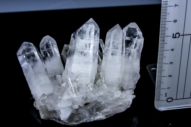 ヒマラヤ水晶 タプリジュン産水晶クラスター クリア htjc-14