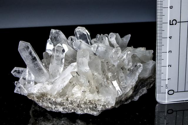 ヒマラヤ水晶 タプリジュン産水晶クラスター htjc-18