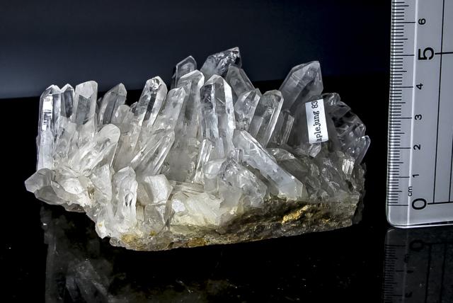 ヒマラヤ水晶 タプリジュン産水晶クラスター htjc-21