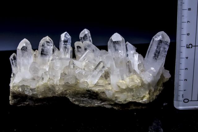 ヒマラヤ水晶 タプリジュン産水晶クラスター htjc-26