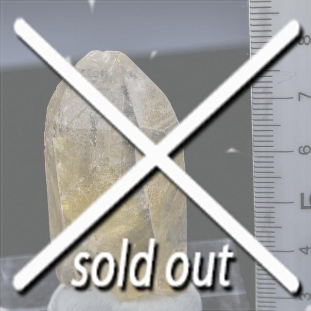 ヒマラヤ水晶 ティップリン産水晶ポイント ガネーシュヒマール ゴールデンヒーラー水晶