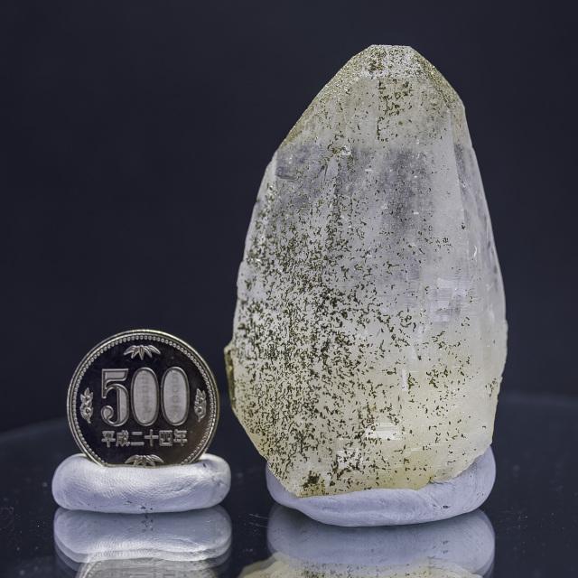 ヒマラヤ水晶 ティップリン産水晶ポイント ゴールデンヒーラー ガネーシュヒマールhtp-3