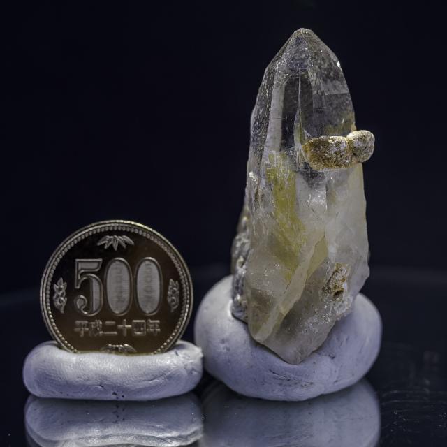 ヒマラヤ水晶 ティップリン産水晶ポイント ゴールデンヒーラー ガネーシュヒマール
