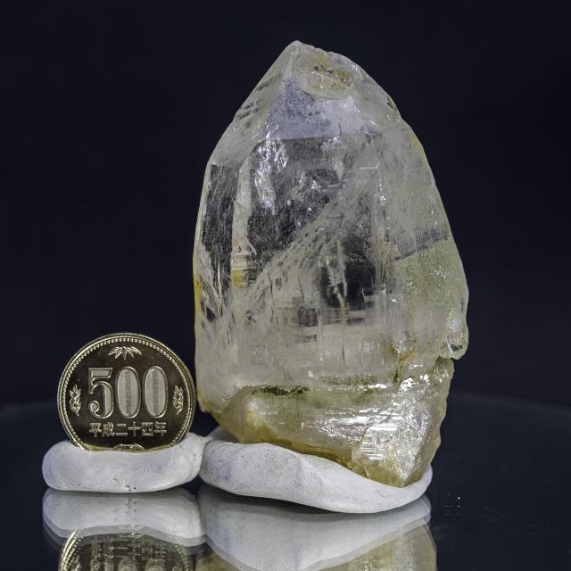 ヒマラヤ水晶 ティップリン産水晶ポイント ガネーシュヒマール ゴールデンヒーラー・レインボー水晶
