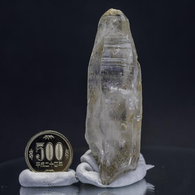 ヒマラヤ水晶 ティップリン産水晶ポイント ガネーシュヒマール レインボー水晶