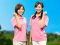 勝ちグセ。ポロシャツ(ピンク)