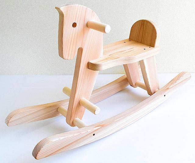 スギ木馬 木遊舎 日本製