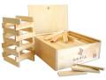 日本製の積み木 ひのきくん 200ピース