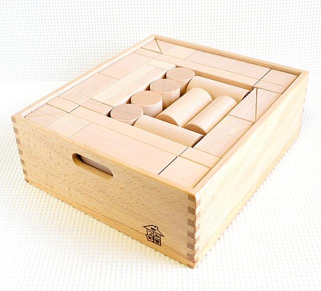 大箱2段積み木 日本製のつみき