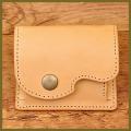 革のコインケース(革小物)手作り革製品