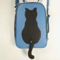 ネコリュック:猫バッグ:レザーバッグ:革鞄