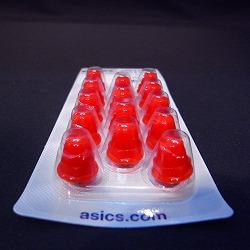 ASICS アシックス 交換式スパイク用 プラスティッククリーツ 15mm(14ヶ入り)