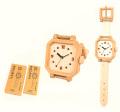 070172 木工クラフト用品/壁掛け腕時計・完成品版